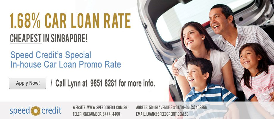 Cheapest Car Loan Rate in Singapore