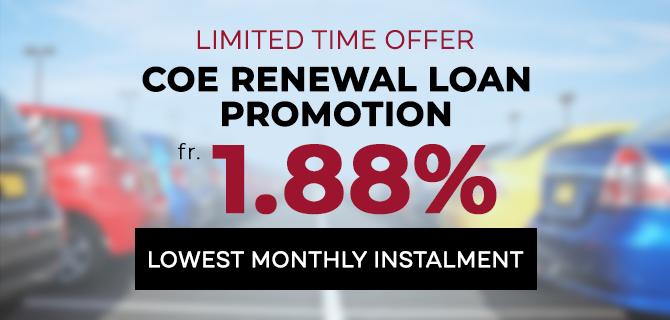 COE Renewal Car Loan Service