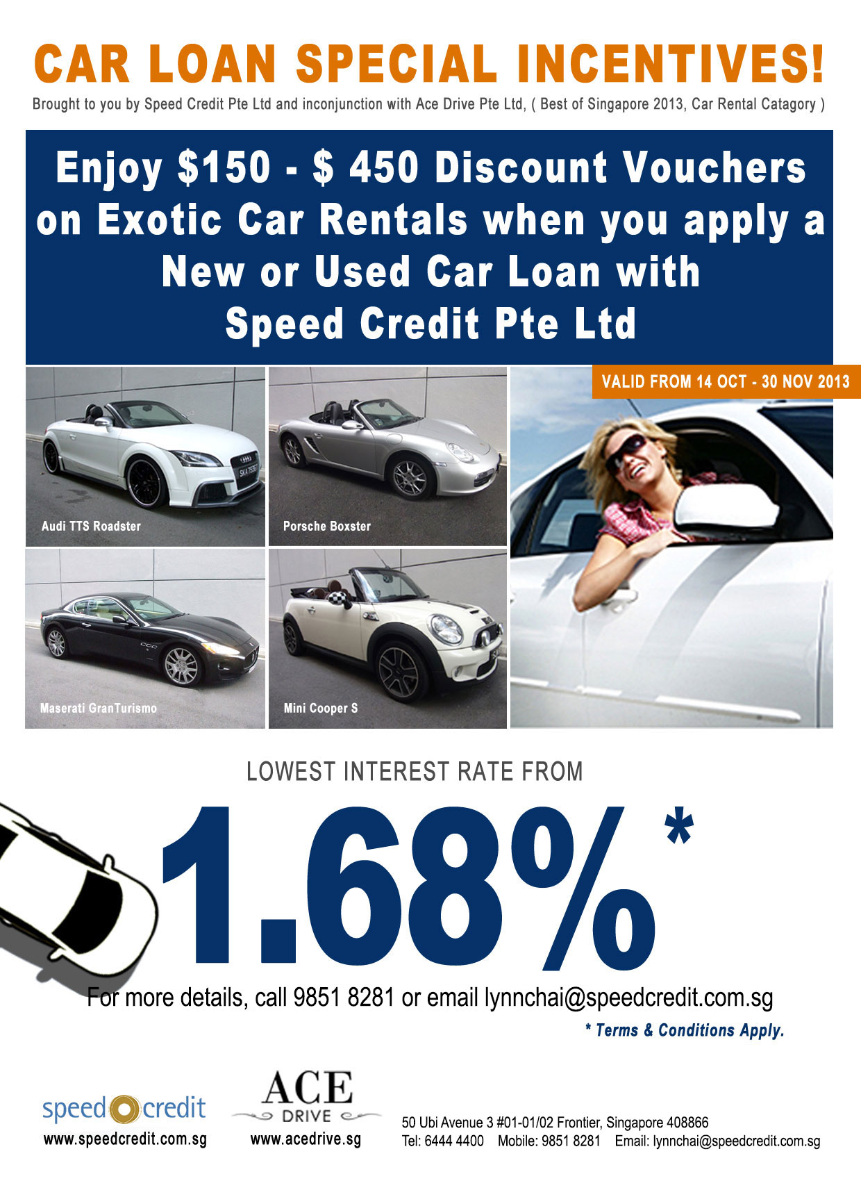 Speed Credit Promo